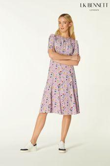 L.K.Bennett Purple Montana Dress