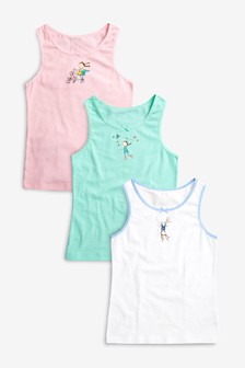 Character Vests Three Pack (1.5-12yrs)