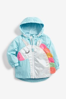 Unicorn Appliqué Jacket (3mths-7yrs)