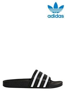 adidas Originals Black Adilette Sliders