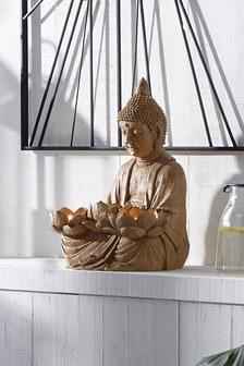 Buddha Pillar Candle Holder