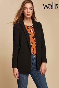 Wallis Black Ribbed Jacket