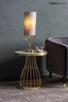 Southgate Champagne Side Table By Hudson Living