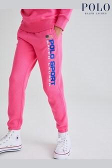 Ralph Lauren Pink Polo Sport Joggers