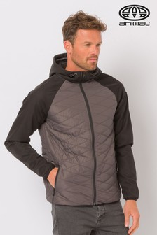 Animal Grey Quilted Jacket