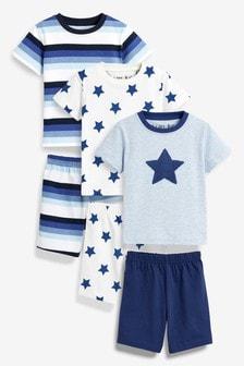 Star/Stripe Pyjamas Three Pack (9mths-8yrs)