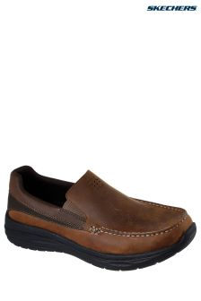 Skechers® Brown Harsen Ortego Shoe