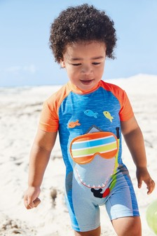 Shark Sunsafe Suit (3mths-7yrs)