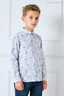 Angel & Rocket Grey Signature Shirt