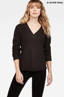 G-Star Vee V-Neck Knitted Sweater