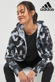 adidas Mono Printed Own The Run Jacket