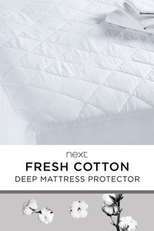 Deep Cotton Mattress Protector
