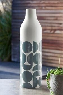 Geo Printed Vase