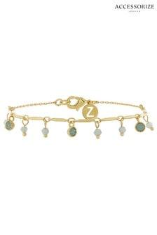 Z for Accessorize Stone Charm Swarovski® Bracelet