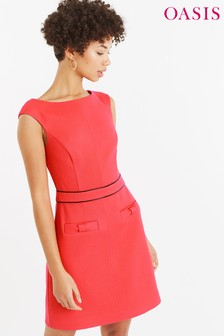 Oasis Red Bow Dress