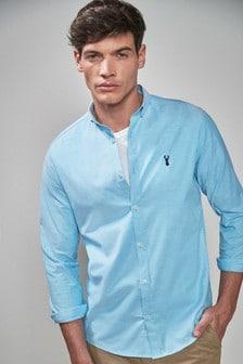 Long Sleeve Stretch Oxford Shirt