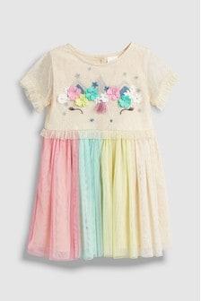 Unicorn Mesh Dress (3mths-7yrs)