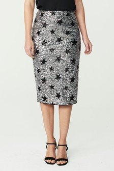 Star Sequin Skirt