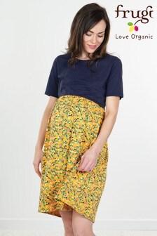 Frugi Organic Floral Smock Dress Maternity or Nursing