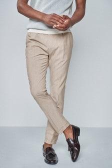 Men S Twinpleat Twinpleat Trousers Trousers Next Australia