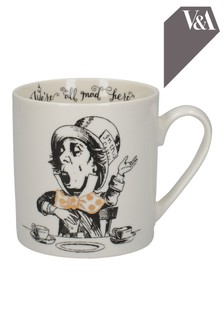 V&A Alice In Wonderland Mad Hatter Mug