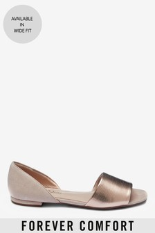 Forever Comfort® Peep Toe Two Part Shoes