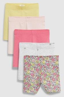 Pretty Shorts Five Pack (3mths-7yrs)