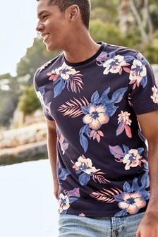 Neon Floral T-Shirt