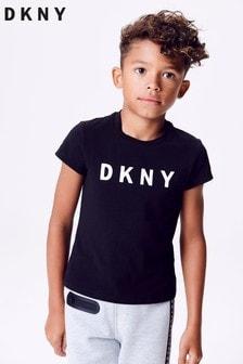 DKNY Black Logo Tee