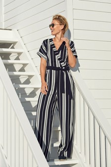 Emma Willis Wrap Jumpsuit