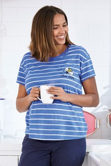 Maternity Bee Slogan Tee