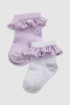 Frill Socks Two Pack (Younger)