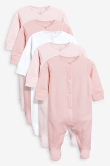 Sleepsuits Five Pack (0mths-2yrs)
