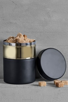 Metallic Chic Storage Tin
