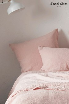 Secret Linen Store Linen Pillowcase