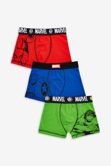 Multi Marvel® Trunks Three Pack (2-12yrs)