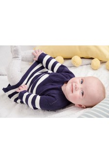 Stripe Knitted Dress (0mths-2yrs)