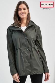 Hunter Women's Original Olive Lightweight Rubberised Jacket