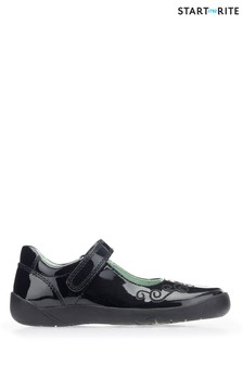 Start-Rite Black Princess Elza Shoe