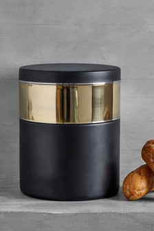 Metallic Chic Bread Bin