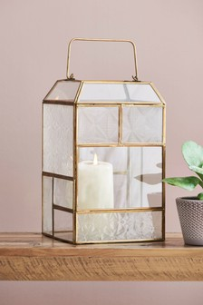 Panelled Glass Lantern