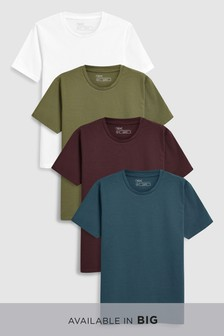 Colour T-Shirts Four Pack