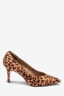 V-Cut Court Shoes