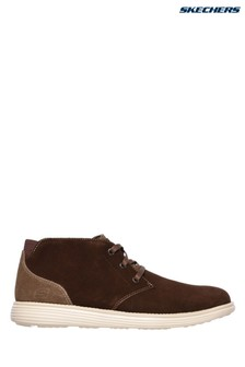 Skechers® Brown Status Rolano Shoe