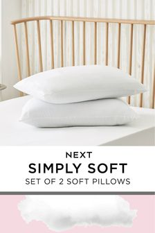 Set of 2 Simply Soft Pillows