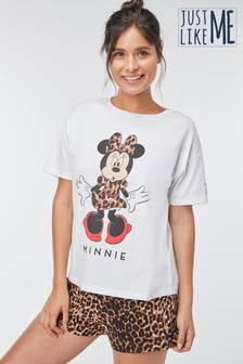 Womens Matching Family Minnie Mouse™ Short Set Pyjamas