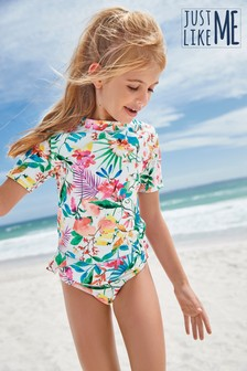 Floral Sunsafe Suit (3-16yrs)
