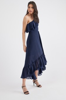 0ff3a7d3d428 Ruffle Dresses | Petite & Tall Ruffle Dresses | Next AU