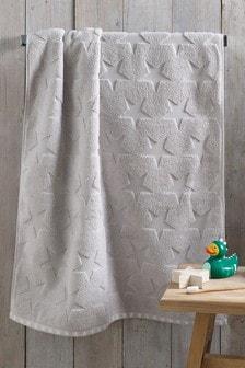 Grey Star Towel
