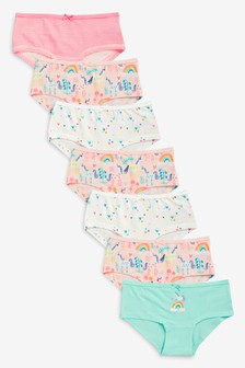 Unicorn Hipster Briefs Seven Pack (2-16yrs)